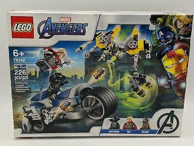 Lego Marvel Super Heroes Avengers Speeder Bike Attack (76142), 226 pieces