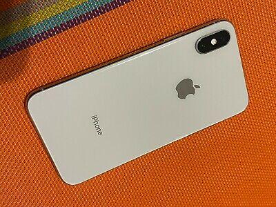 Apple iPhone XS - 256GB - Silver (Unlocked) A1920 (CDMA + GSM) (READ)