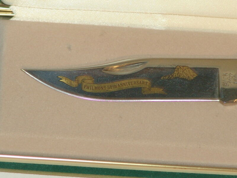 Boy Scout Knife - Philmont 50th anniversary knife in box #220 of 500