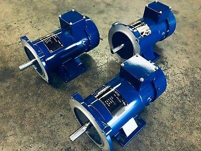 Aurora Motors Permanent Magnet Dc Motor 56c 180v 1750rpm Tefc 34hp - Brand New