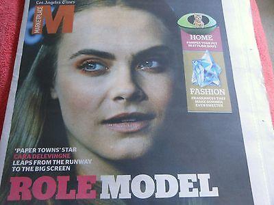 La Times Marketplace August 2015 Paper Towns Cara Delevinghe Role Model