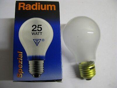 NEW RADIUM GLOBE G95 40W White OPAL E27 ES 95mm Decorative Round Light Bulb Lamp