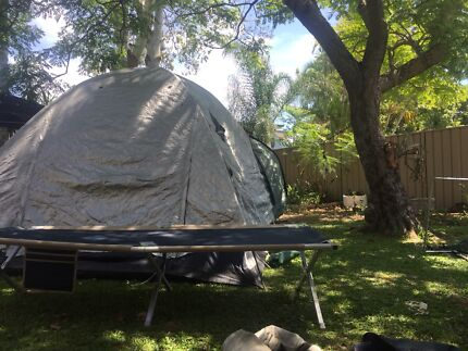 Huge 2 room tent ⛺️ Pu Slacks Creek Asap
