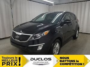 2013 Kia Sportage LX*MAGS*FOGS*AUX*CRUISE*BANCS CHAUFF*