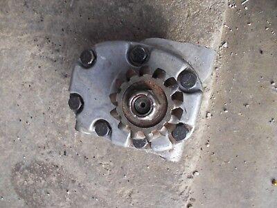 Farmall Rc Ih Ihc Tractor Cessna Hydraulic Pump Assembly W Drive Gear