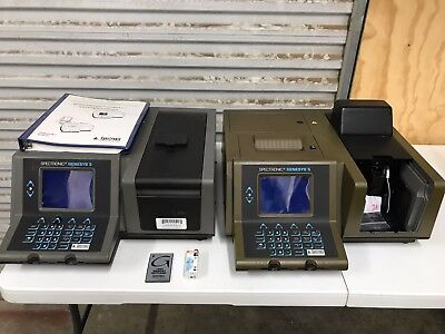 Spectronics Genesys 5 Spectrophotometer - Two Units With Extras
