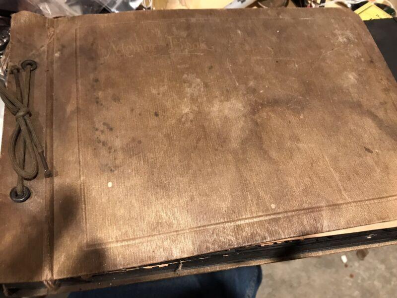 vintage 1920s Scrapbook