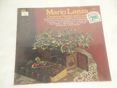 MARIO LANZA CHRISTMAS HYMNS AND CAROLS RECORD LP VINYL SEALED NEW 1977