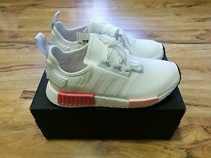 Adidas Nmd R1 Women White Pink UK7 US8.5 Boost Canning Vale Canning Area Preview