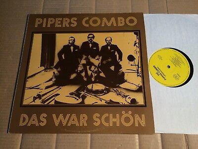 PIPERS COMBO - DAS WAR SCHÖN - LP - PICO 101 - GERMANY