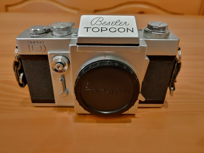 Beseler Topcon Super D Collectible Vintage Japanese Camera