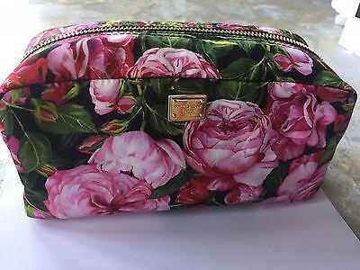 Dolce & Gabbana NWT Necessaire Floral Print Nylon Cosmetic Case ($425)