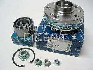front hub flange wheel bearing kit for vw mk4 golf bora all meyle products ebay. Black Bedroom Furniture Sets. Home Design Ideas