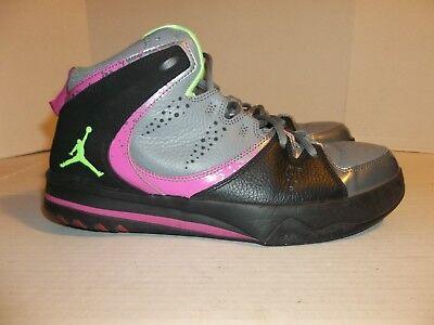 Mens Size 10 Nike Air Jordan Phase 23 2 Gray/Pink/Black Basketball Shoes, usado segunda mano  Embacar hacia Argentina