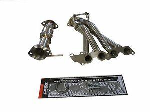 OBX Exhaust Header Manifold Fit 04 05 06 07 08 09 Mazda 3 Mazda3 2.0L 2.3L