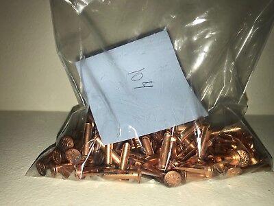 L14 Crescent Split Bifurcated Coppered Rivet Nos 104 Pcs Free Shipping