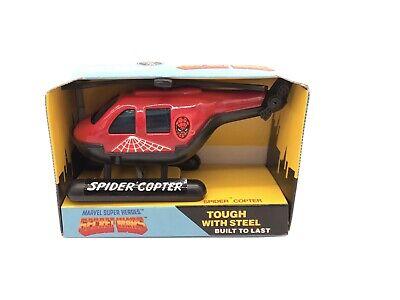 Vintage 1984 Buddy L Marvel Super Heroes Secret Wars SPIDERMAN Copter NIB
