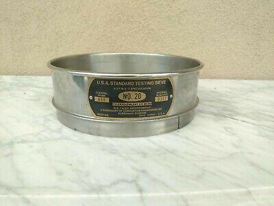 U.s.a Standard Testing Sieve No.20 Micrometer 850 .0331