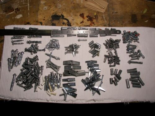 Monster lot mollies for masonry & drywall, toggles, wall griper, butterfly
