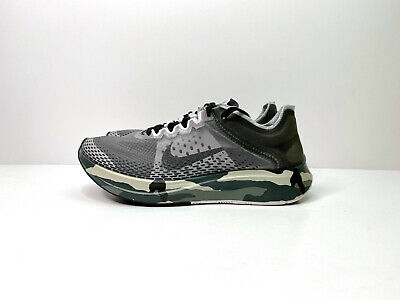 Nike Zoom Fly Sp Fast Womens Running Trainers Camo Green UK 6 EUR 39 AT5242 300