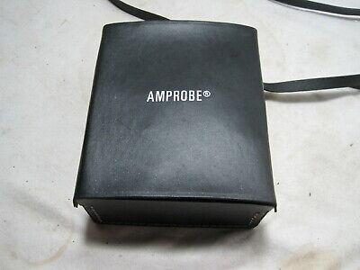 Amprobe Model Amb-1 Insulation Resistance Tester Megohmmeter Wcase