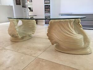 Glass Coffee Table & 2 x Side Tables Wilberforce Hawkesbury Area Preview