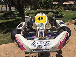 Go Kart Rotax Arrow 125 cc AX8 model Bonnyrigg Fairfield Area Preview