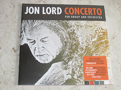 JON LORD Concerto for Group and Orchestra SEALED 2LPs import Germany DEEP