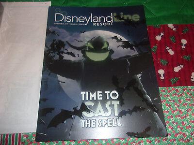 Halloween Times 2017 (2017 Disneyland Line HALLOWEEN TIME OOGIE BOOGIE Embossed Cover -)