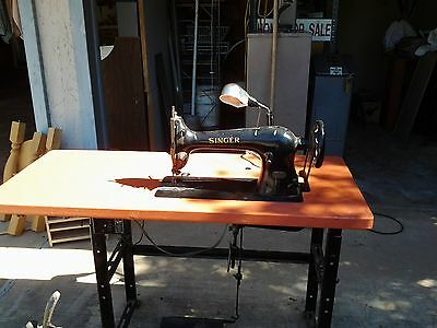 Vintage original Singer leather sewing machine 3115 year 1899