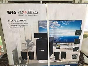 NRG Acoustics professional home theatre system