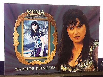 Xena Warrior Princess Lucy Lawless Art   Images Gallery Film Cell Chase Card Gx5