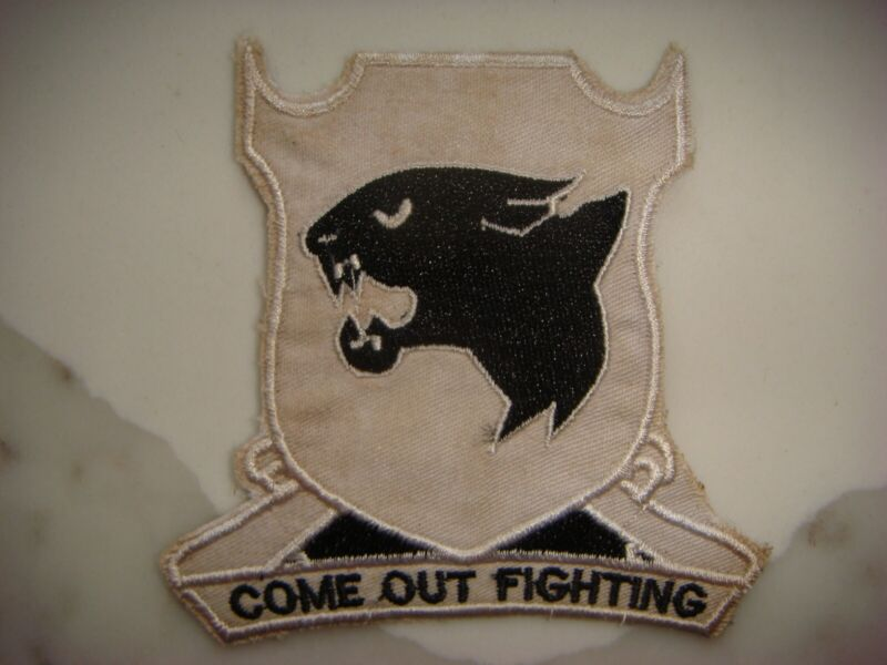 US ARMY 761st TANK BATTALION COME OUT FIGHTING PATCH