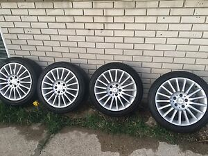 Sets of summer tires with rims 225/45/17and245/40/17