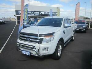 2015 Ford Ranger XLT 3.2TD Auto 4x4 Dual Cab Tray Top West Busselton Busselton Area Preview