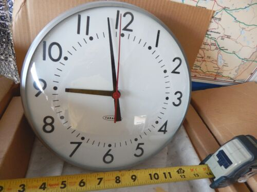 vintage Faraday Industrial School Office Wall Clock  New-old stock Pristine