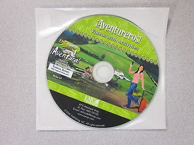 %EMC Espanol 1 Aventura !Aventureros! Videos w/ Activities CD New  	 9780821964