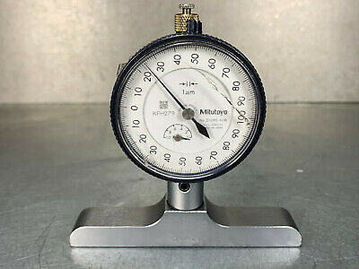 Mitutoyo 2109s-10 Dial Indicator .001mm Resolution Cal. Due 420