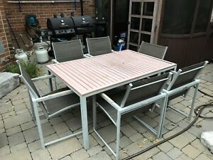Outdoor Patio Table Set and Coffee Set