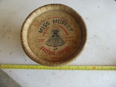 Vintage Miss Muffet Cottage Cheese Carton Dawson MN Only 1 on eBay Lot 20-62-15