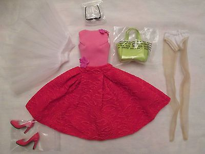 Rose Rouge Tonner Marley Wenworth Doll Outfit 500 Made fit Chic Body Miette 2015