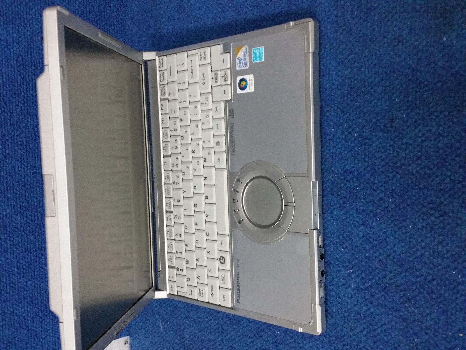 Panasonic Toughbook CF-T8 Stylus 4gb Ram 160GB W7  Ready to use
