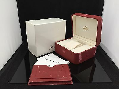 OMEGA WATCH BOX CASE S.A GENEVE SUISSE 100%Authentic fn528
