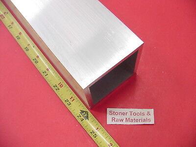 3x 3x 14 Wall X 24 Long Aluminum Square Tube 6063 T52 3 Sq X .25
