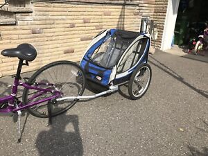 Bell Double Bike Trailer