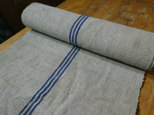 A Homespun Linen Hemp/Flax Yardage 6 Yards x 22