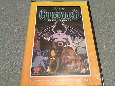 Gargoyles Season 2 Vol 2 Volume DVD Disney 3 Disc set  26 EPISODES  FREE SH