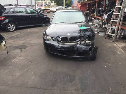 BMW 318TI 316TI E46 COMPACT BLACK WRECKING COMPLETE CAR 4 PARTS Northmead Parramatta Area Preview