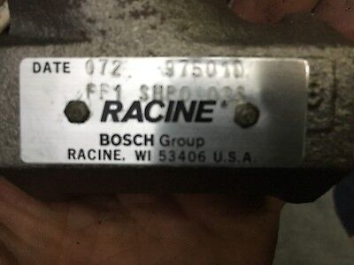 New Bosch Racine Ff1-shpo-02s Hydraulic Flow Control Valve New In Box