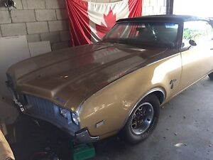 1969 Cutlass Convertible in great condition!